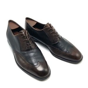 Bragano COLE HAAN Italy Men's Lace-up Shoe 2 tone